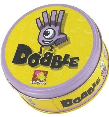Dobble Game Crazy Visual Party Card Funny Family Fun Cards Asmodee UK