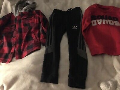 Boys Bundle Of Clothes Adidas,next Etc Age 6-7-8 Years Pre-owned