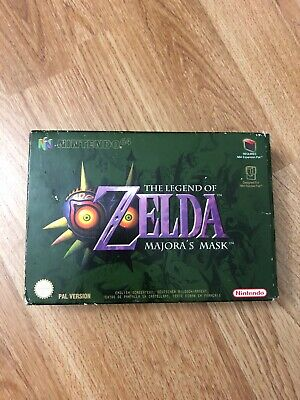 The Legend Of Zelda Majora's Mask Nintendo 64 N64 Pal Euro Complet