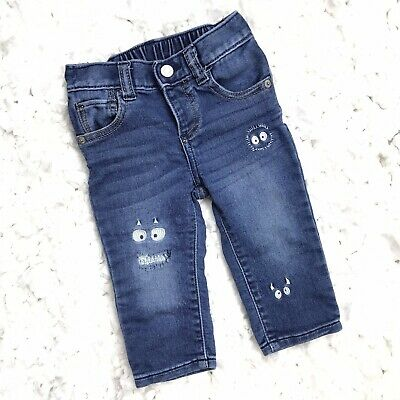 Gap Toddler Baby Boys Jeans Denim Pants Stretch Blue 12-18 Months