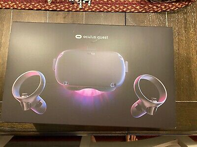 Oculus Quest 64GB VR Headset - Black Great Condition