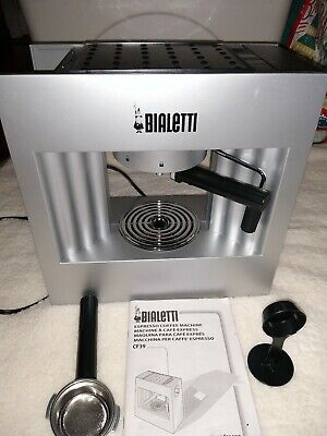 Bialetti Caffe Concerto Espresso Coffee Maker Machine Mint Missing Water Lid