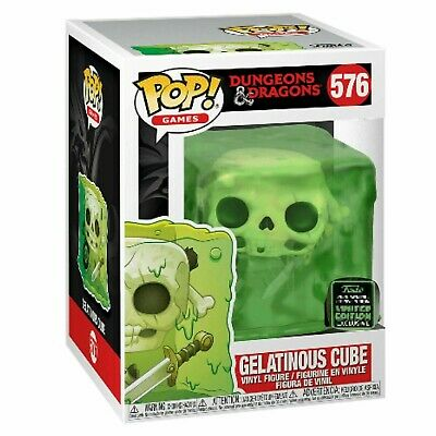Funko Pop Gelatinous Cube Slime #576 Eccc 2020 Shared Exclusive. Pre-Order