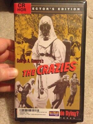 george a. romero's the crazies vhs anchor bay collector's edition