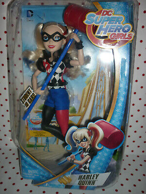 "Harley Quinn, Articulated ""DC Super Hero Girls"" Boxed Doll"