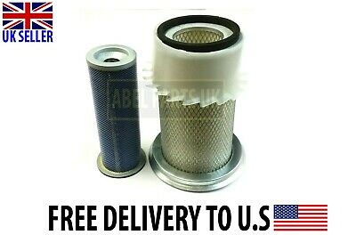 INNER /& OUTER AIR FILTERS JCB PARTS 3CX NAT ASP ENGINE 32//906801 /& 32//906802