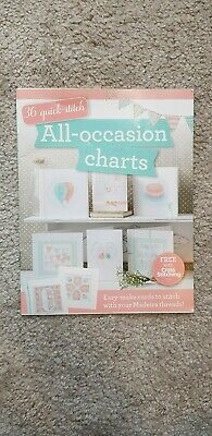 All Occasion Charts 36 Quick Stitch Cross Stitching Leaflet