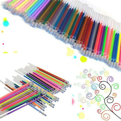 12PCS/Set Fluorescence Gel Pen Refills Coloring Stationery School Supplies 0.8MM