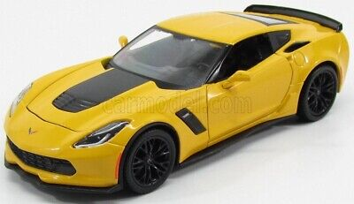 CHEVROLET Corvette c7 Stingray Coupe 2014-17 ROSSO RED METALLIC 1:43 BBURAGO