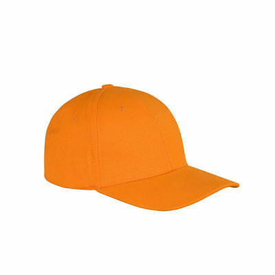 Memphis Low Profile Brushed Cotton Plain Baseball Cap Mens Ladies Sports Leisure