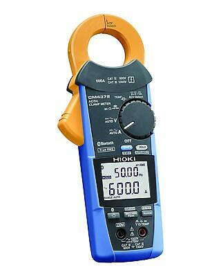 HIOKI AC DC Clamp Meter CM4372 ACDC 600A Bluetooth Ship with Tracking number NEW