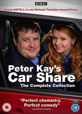 Peter Kay Kay's Car Share The Complete Collection DVD New Sealed