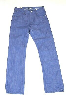 Gap Kids Boys Sz 12 Regular Blue 1969 Straight Leg Jeans New