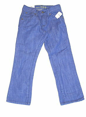 Gap Kids Boys Sz 5 Regular Blue 1969 Straight Leg Jeans New