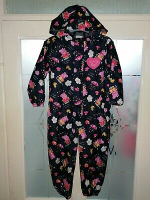 Girls Peppa Pig Puddle Suit Age 3-4 Years
