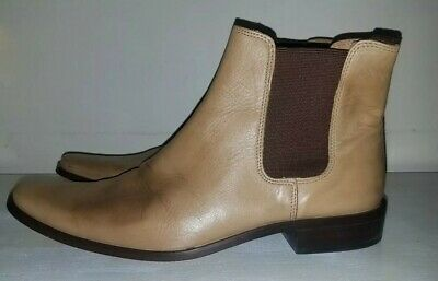 vintage mens burton size 9 /43 winkle picker ankle boots real leather Chelsea