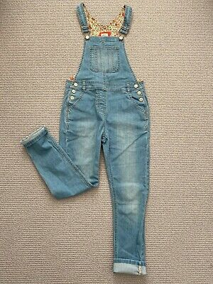 Mini Boden girls denim dungarees age 9-10yrs. Good condition