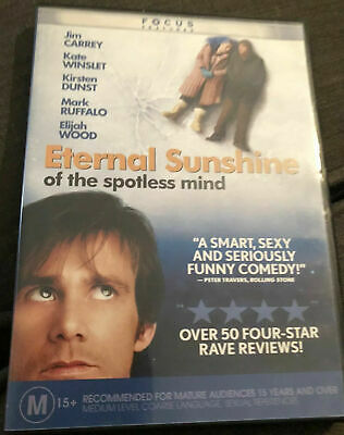 Eternal Sunshine of the Spotless Mind DVD - Jim Carrey Movie