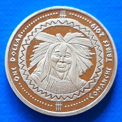 Ewiiaapaayp Indian Tribe 5 cents 2014 UNC USA unusual coinage