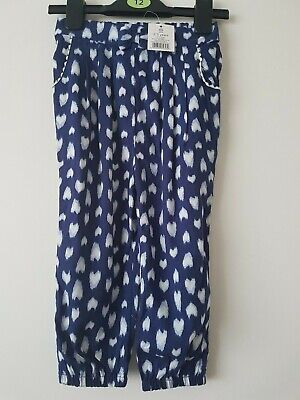 💕 George 💕 Girls  Summer Trousers   Age  2 - 3  Years 💕