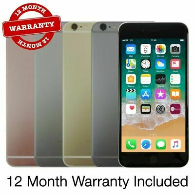 Apple Iphone 6s Plus 16GB 32GB 64GB 128GB all colors unlocked 12 Month Warranty
