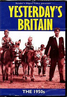 Britain in the 1950's 50's - Yesterday's Britain Readers Digest DVD NEW