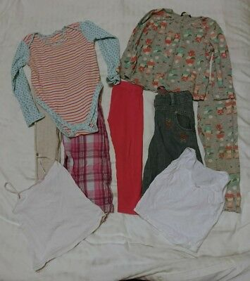 Girls Clothes Bundle Age 2-3 Years. Trousers, Tops, Vests.