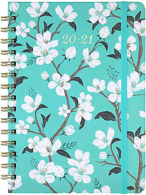 Planner Academic 2020 2021 Weekly Monthly with Tabs July June Back Pocket day