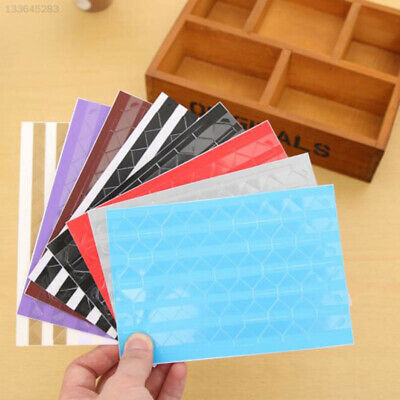 60B7 102Pcs Self-adhesive Photo Corner Scrapbooking Stickers Album Photo Color