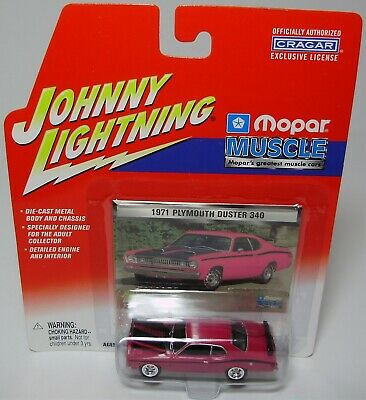 JOHNNY WHITE LIGHTNING  MOPAR MUSCLE 1971 PLYMOUTH DUSTER 340