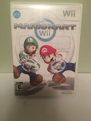 Mario Kart (Nintendo Wii, 2008) Complete Read Description