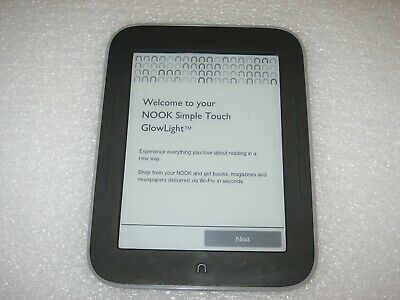 "Barnes & Noble NOOK Simple Touch with GlowLight eReader Wi-Fi, 2GB, 6"" - BNRV350"