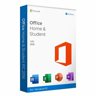 Microsoft Office 2016 Home and Student Windows license