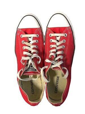 Converse All Star Chuck Taylor RED Size Men's 10 Women's 12 Great Condition