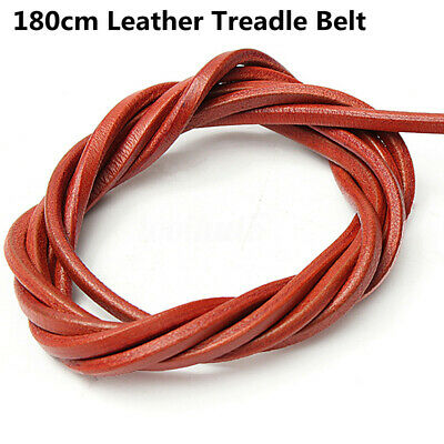 "100Ft Sewing Machine Treadle Belt~Leather 1//8/"" 3.2mm"