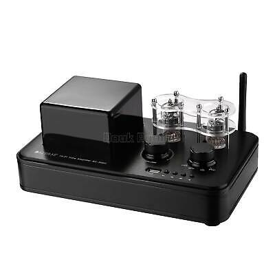HiFi Bluetooth Vacuum Tube Power Amplifier USB Music Player Stereo Subwoofer Amp