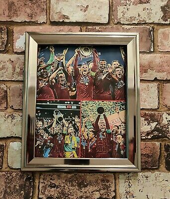 Liverpool FC Champions of Europe and the world collage Football Picture print
