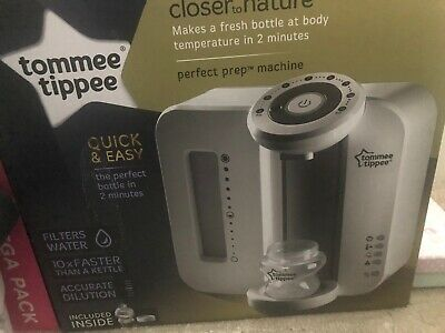 Tommee Tippee White Perfect Prep Machine - Brand New In Box - Never Even Opened