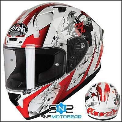 Airoh Valor Full Face Motorcycle Motorbike ACU Sharp 5* Helmet - Jackpot Gloss