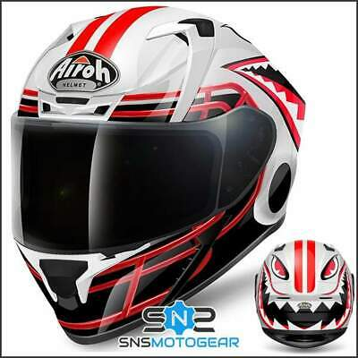 Airoh Valor Full Face Motorcycle Motorbike ACU Sharp 5* Helmet - Touchdown Gloss