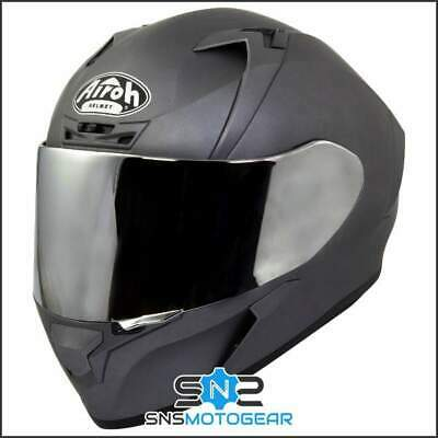 Airoh Valor Full Face Motorcycle Helmet - LTD Edition Matt Silver + Mirror Visor
