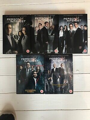 Person Of Interest All Seasons 1-5 Dvd Tv Series UK Format