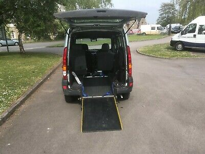 Renault Kangoo WHEELCHAIR ACCESSIBLE mobility disabled ramp wav disability