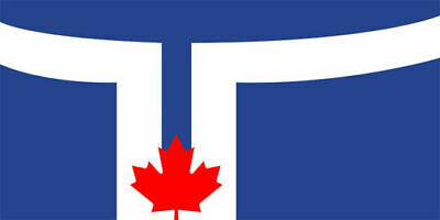 CITY of TORONTO BANNER/FLAG 100% POLYESTER PREMIUM WITH METAL GROMMETS