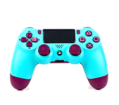 Playstation 4 PS4 Dualshock Wrieless Controller V2 in Berry Blue NEU & OVP /DE