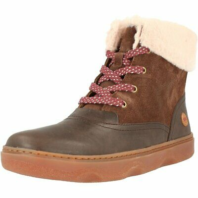 Camper Kido Brown Leather Child Ankle Boots