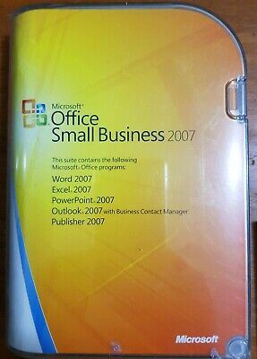 Microsoft Office Small Business 2007 ***GENUINE AUSTRALIAN FULL RETAIL PACK***