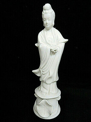 "Vintage Chinese Kwan / Quan Yin Statue Figurine 8"" Mint"