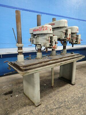 """Powermatic 1200 Multi-Spindle Drill Press 20""""  24"""" X 80"""" Table 02200730003"""