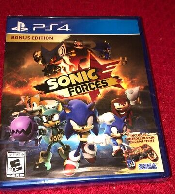 New Sealed Sonic Forces Bonus Edition PS4 PlayStation 4 See Details